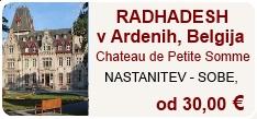 Radhadesh v Ardenih nastanitev