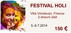Festival holi, 5.-6.7.2014