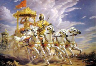 Bhagavad Gita – predstavitev knjige v knjižnici na Vrhniki