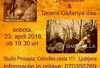 Shamballa & Tarana Caitanya das