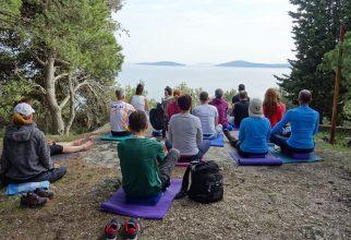 Prvomajski jogijski oddih, Prvić 2018