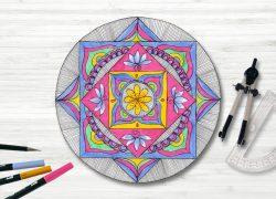Začetni tečaj risanja mandal