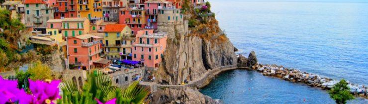 Praznik riža in Cinque Terre