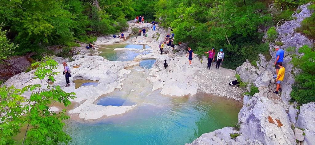 7 Magičnih slapov Mirne v Istri