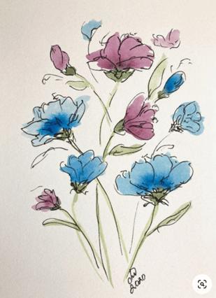 Začetni tečaj slikanja z akvarelom